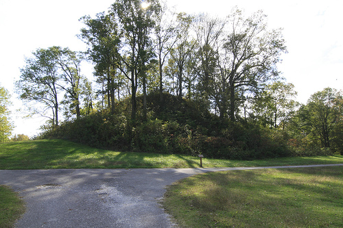 Pinson mounds (Middle Woodland Period). Pinson, TN