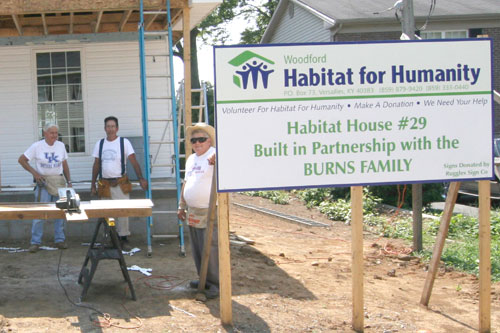 Habitat for Humanity Woodford County Versailles KY Kentucky
